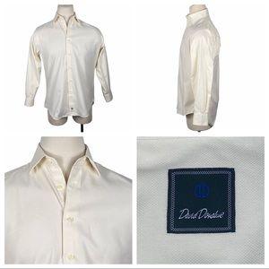 ExcCond David Donahue Dress Shirt 15 1/2
